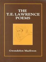 Book Cover TE Lawrence Poems