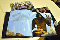 Interior spread of The Legend of the Fog.